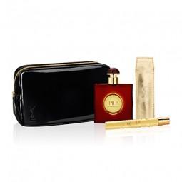 YSL Opium Geschenkset EdT 50 ml + EdT 10 ml + Kosmetiktasche
