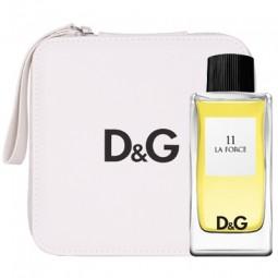 D&G 11 La Force Geschenkset EdT 100 ml + Necessaire
