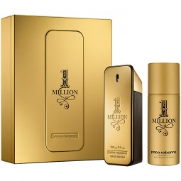 Paco Rabanne 1 Million Geschenkset EdT 100 ml + Deo Spray 150 ml