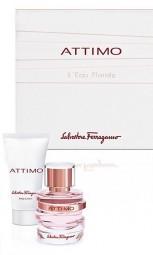 S. Ferragamo Attimo L'Eau Florale Set EdT 100 ml + BL 50 ml + Reisenecessaire